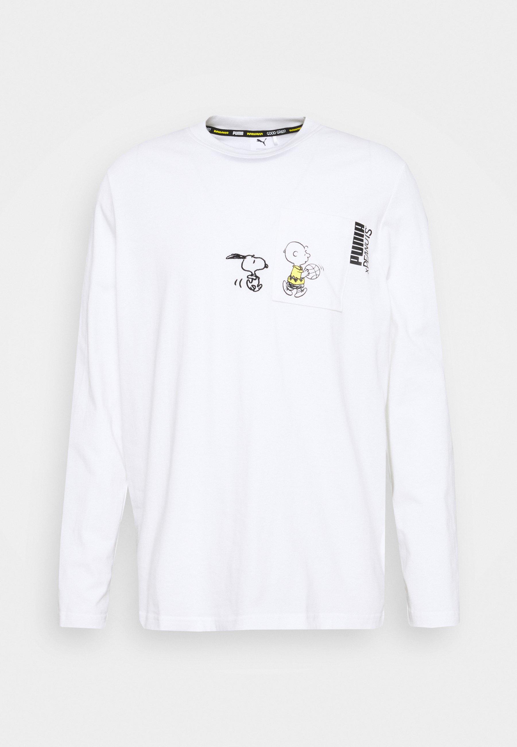 Uomo PEANUTS SNOPPY TEE - Maglietta a manica lunga