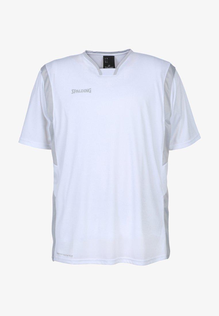 Spalding - ALL STAR SHOOTING - Sports shirt - weiß / silber grau