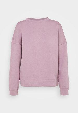 JDYLINE LIFE CREW NECK - Sweatshirt - elderberry