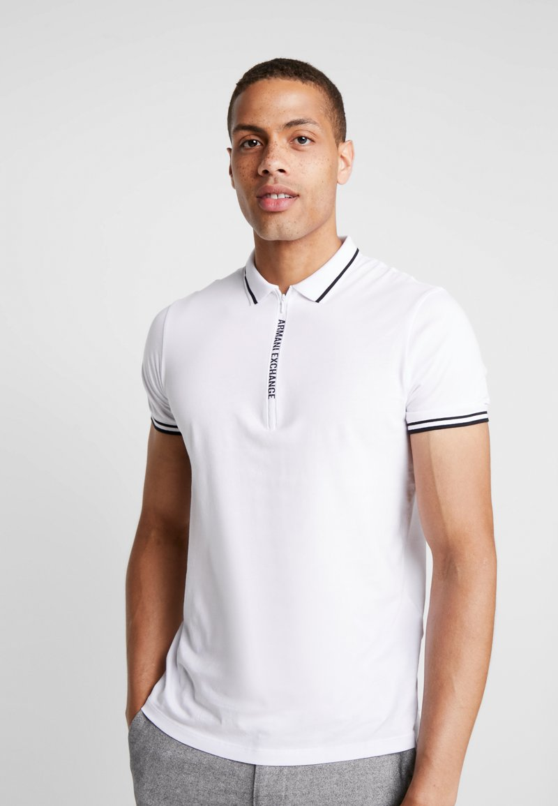 Armani Exchange - Poloshirts - white