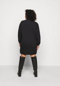 Wrangler Plus - HIGH NECK DRESS - Korte jurk - faded black - 2
