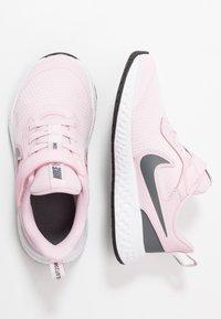 Nike Performance - REVOLUTION 5 - Neutral running shoes - pink foam/dark grey - 0