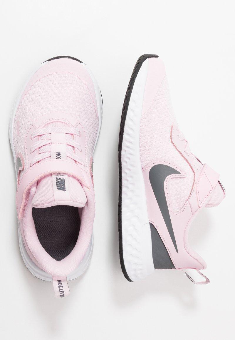 Nike Performance - REVOLUTION 5 - Neutral running shoes - pink foam/dark grey