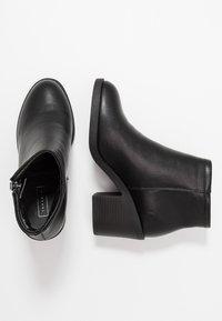 Topshop - BONDI ZIP UNIT - Ankle boots - black - 3