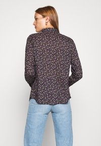 Benetton - Button-down blouse - navy - 2
