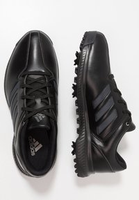 adidas Golf - CP TRAXION - Golfové boty - core black/carbon/iron metallic - 1