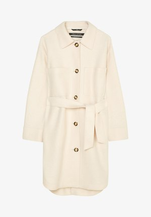 BOILED  - Classic coat - natural white