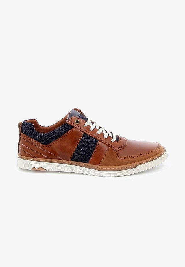 WOLFE - Sneakers laag - cognac
