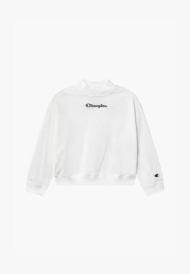 ROCHESTER LOGO CREWNECK  - Long sleeved top - white