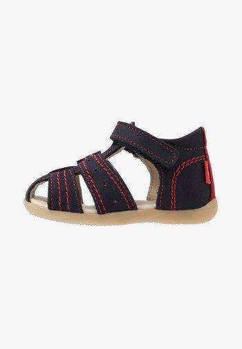 BIGBAZAR - Baby shoes - marine/rouge
