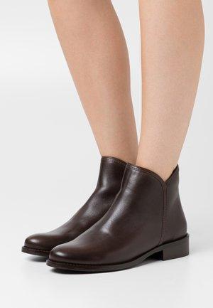 LEATHER - Kotníková obuv - brown