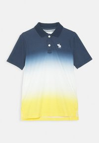 Abercrombie & Fitch - Polo shirt - blue/yellow - 0