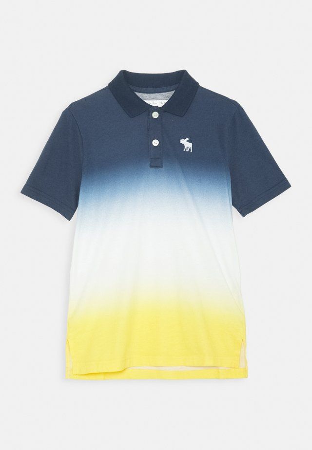 Polo shirt - blue/yellow