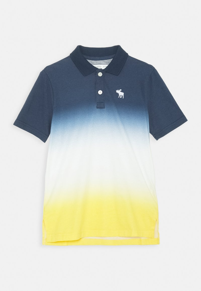 Abercrombie & Fitch - Polo shirt - blue/yellow
