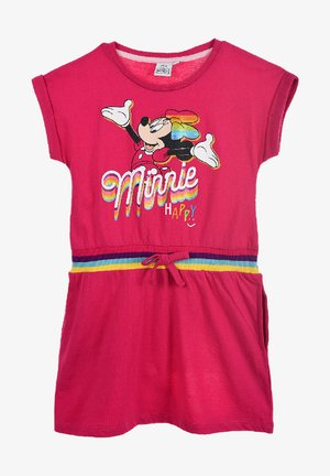 MINNIE MOUSE SOMMERKLEID - Jersey dress - pink