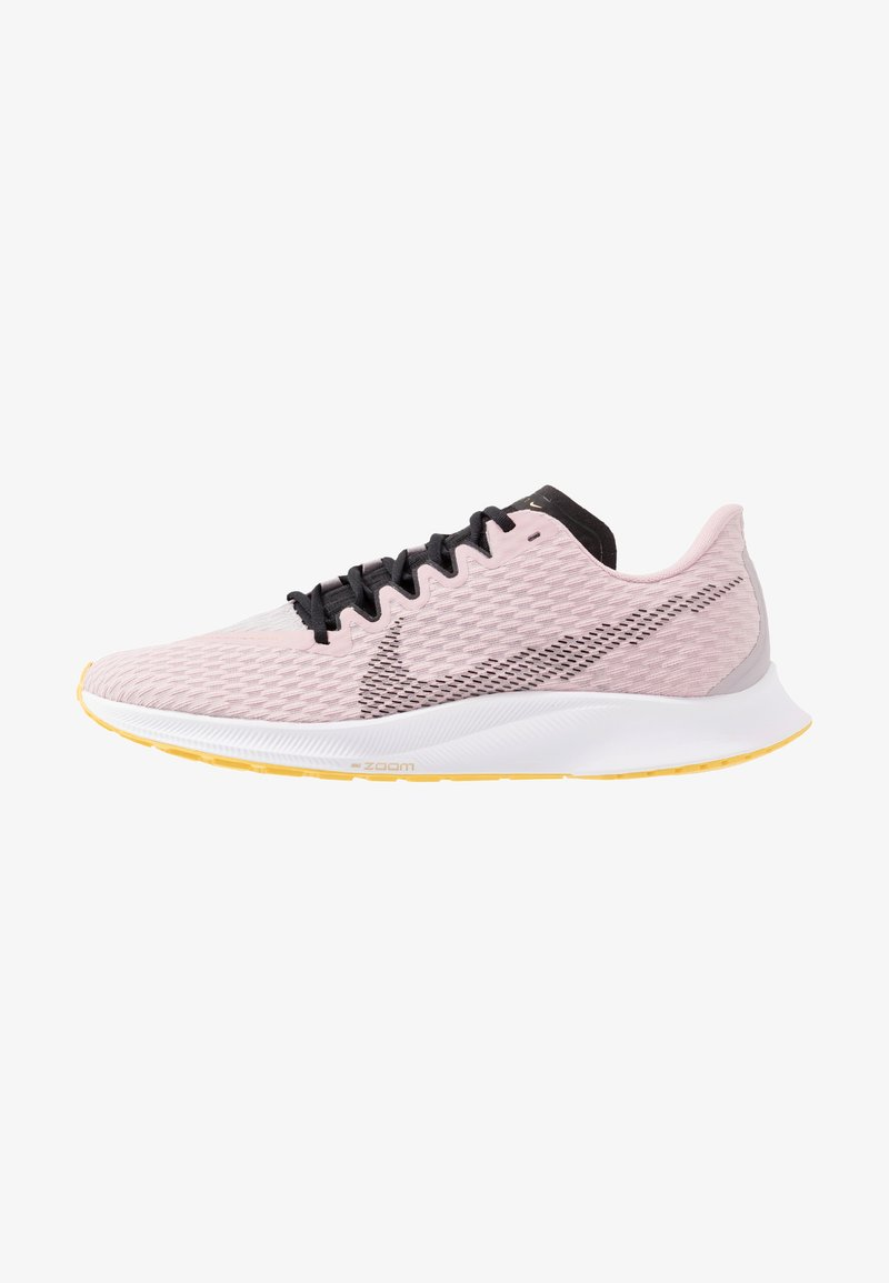 Nike Performance - ZOOM RIVAL FLY 2 - Neutral running shoes - plum chalk/black/silver lilac/metallic gold/infinite gold
