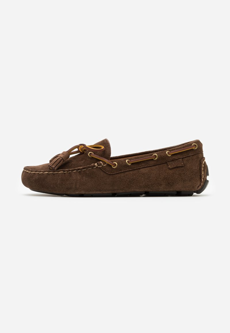 Polo Ralph Lauren - ANDERS LOAFR DRIVER - Mokasíny - chocolate brown
