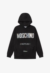 MOSCHINO - HOODED OVERSIZE - Hoodie - black - 2
