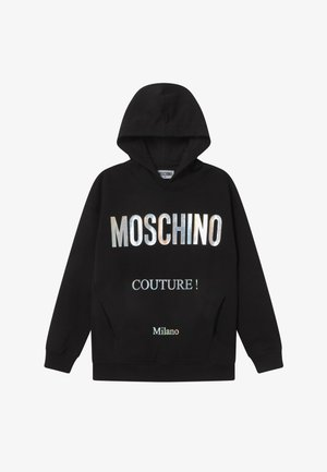 HOODED OVERSIZE - Kapuzenpullover - black