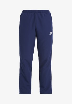 CORE - Tracksuit bottoms - dark blue/white