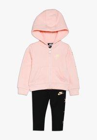 Nike Sportswear - AIR BABY SET - Tracksuit - black - 0