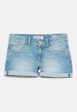 DAMARA - Denim shorts - light indigo