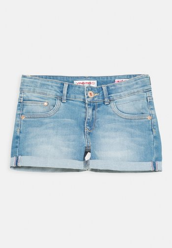 DAMARA - Denim shorts - light indigo