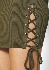 Guess - ALEXA TIE  - Shift dress - khaki - 3