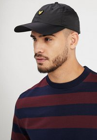 Lyle & Scott - RIPSTOP CAP - Kšiltovka - true black - 1