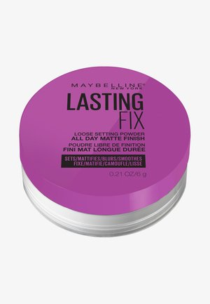 MASTER FIX PUDER - Setting spray & powder - translucent
