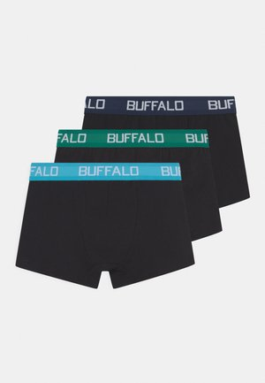 BOXER IMAGE 3 PACK - Culotte - blac/blue/turquoise