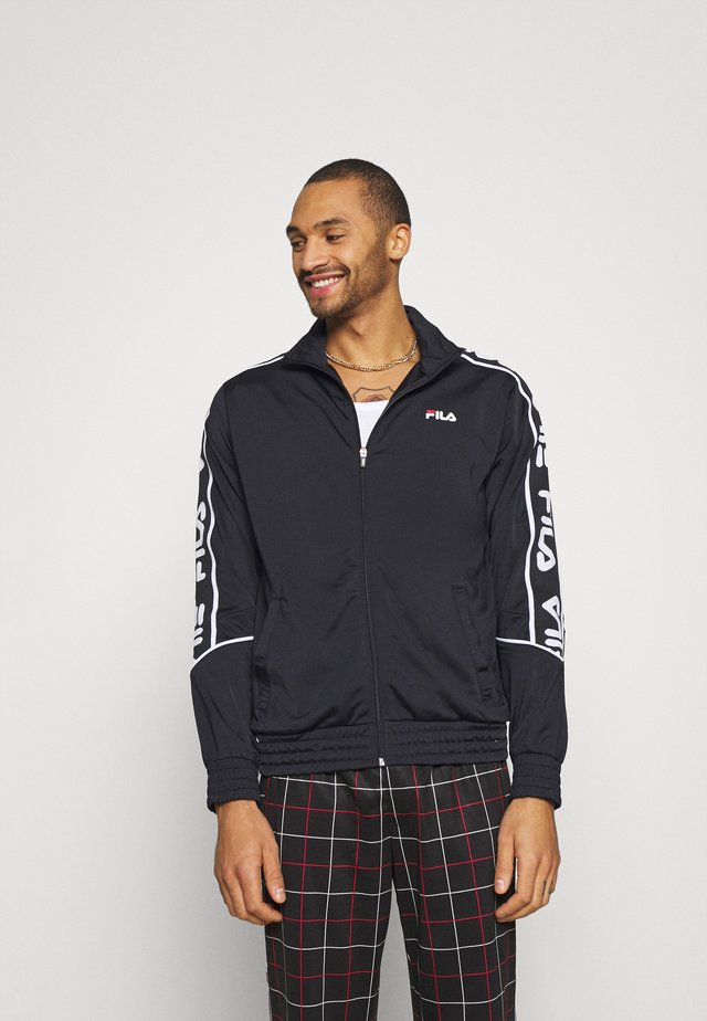 TED TRACK JACKET - Giacca sportiva - black