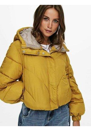 KURZ PUFFER - Down jacket - harvest gold