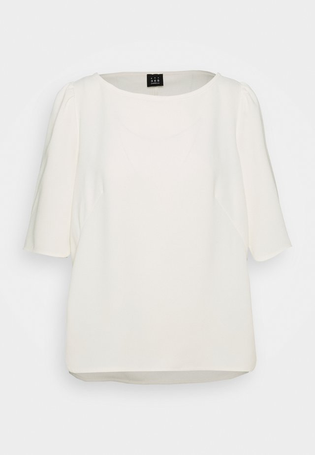 VANESSA - Blusa - bianco lana