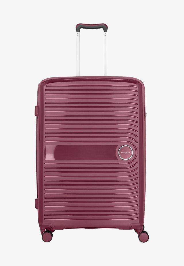 CERIS - Wheeled suitcase - red