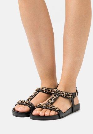 SO SERIOUS - Sandals - black