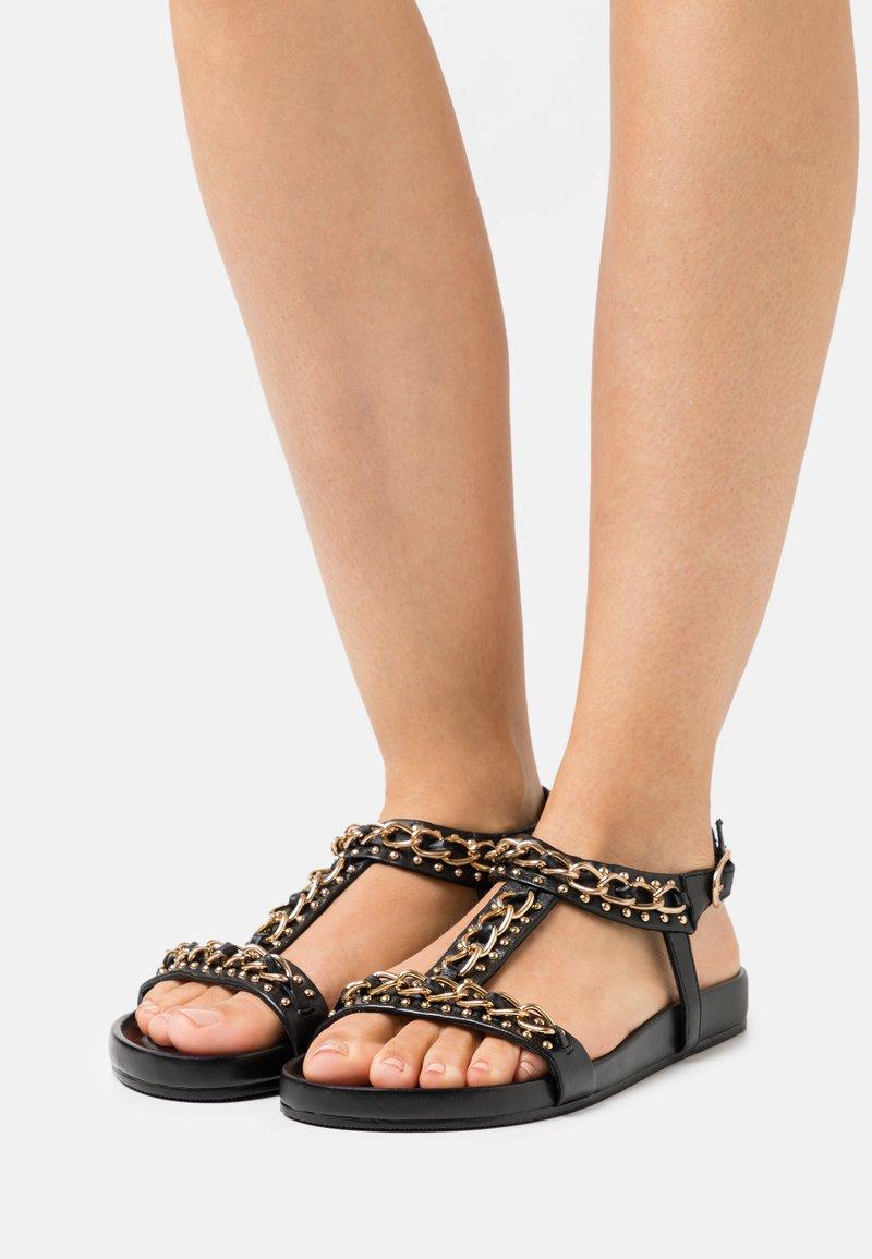 Copenhagen Shoes - SO SERIOUS - Sandały - black