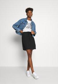 JDY - JDYNIKKY  - A-line skirt - black - 1