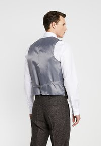 Shelby & Sons - PERRY WAISTCOAT - Chaleco - dark brown - 2