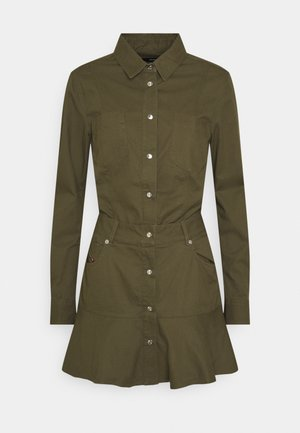 D-SHAY DRESS - Shirt dress - green