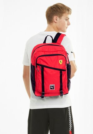 SCUDERIA FERRARI - Backpack - rosso corsa