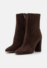 Bianca Di - High heeled ankle boots - caffe