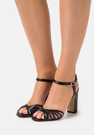 VINTO - Sandales à talons hauts - noir