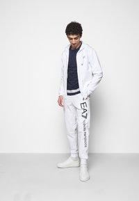 EA7 Emporio Armani - Zip-up hoodie - white - 1