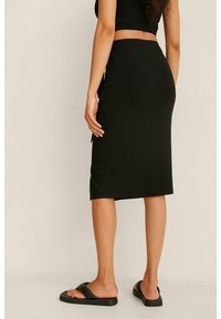 NA-KD - Pencil skirt - black - 3
