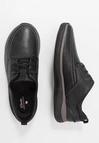 Clarks - GARRATT STREET - Zapatos con cordones - black - 1