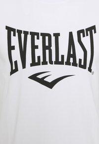 Everlast - BASIC TEE RUSSEL - Triko spotiskem - white - 2
