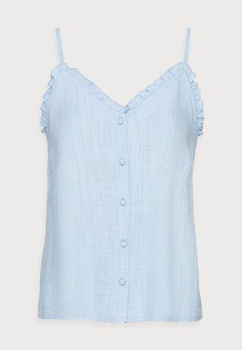 LAIDA SINGLET - Blouse - powder blue