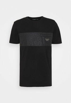 TECETTI TEE - T-shirt print - jet black