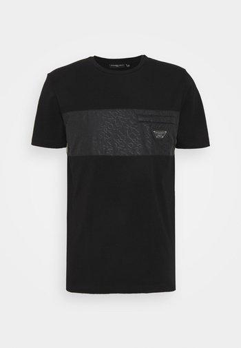 TECETTI TEE - Print T-shirt - jet black